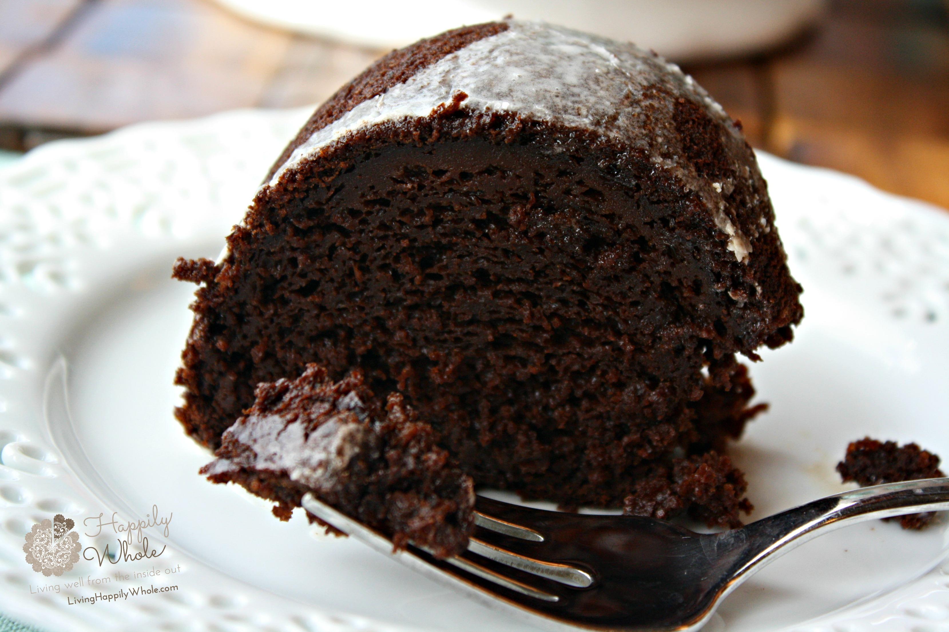 Chocolate Pumpkin Bundt Cake for Thanksgiving