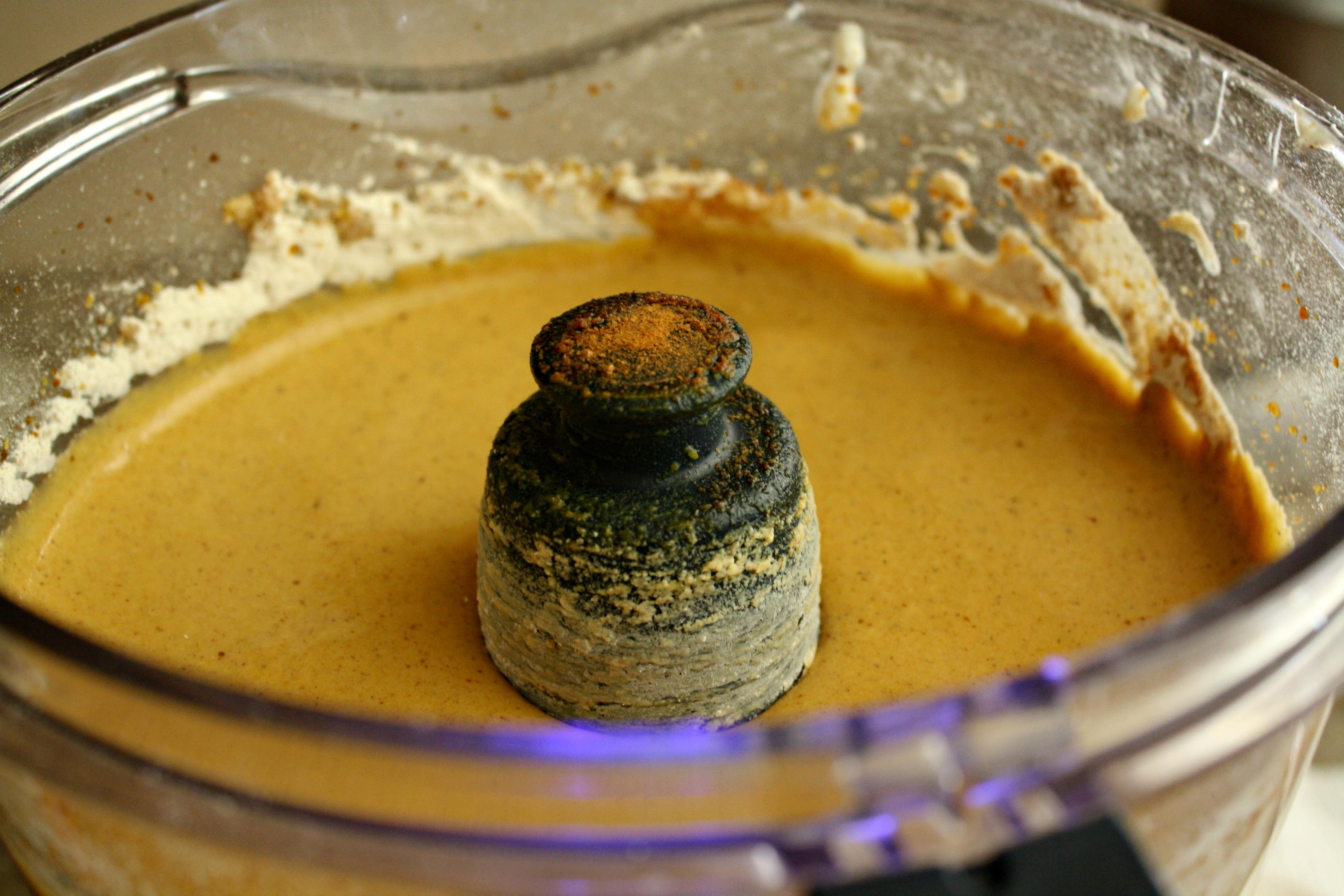 Gluten free pumpkin muffins, batter