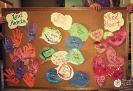 Kind Hands, Kind Words, Kind Heart Bulletin Board