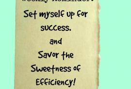 Savor the Sweetness of Efficiency