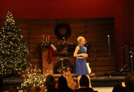 Christmas Spirit Presentation, Holding on to Joy and Hope in a Hard Season. By Katie Oldham