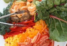 fruit and veggie platter
