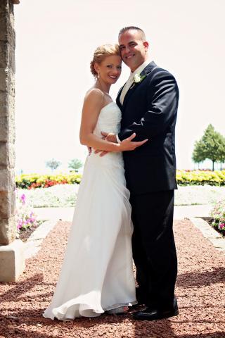 me and matt after wedding
