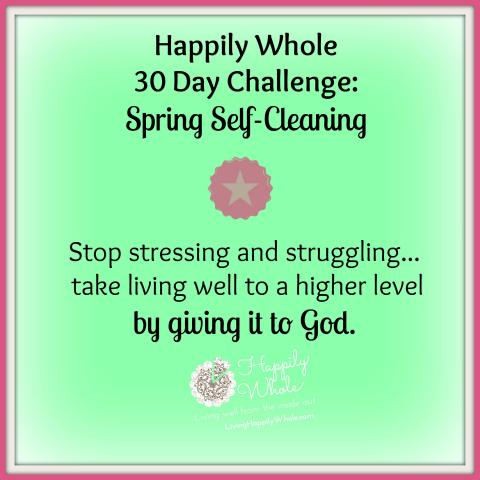 30 day spring self-cleaning challenge