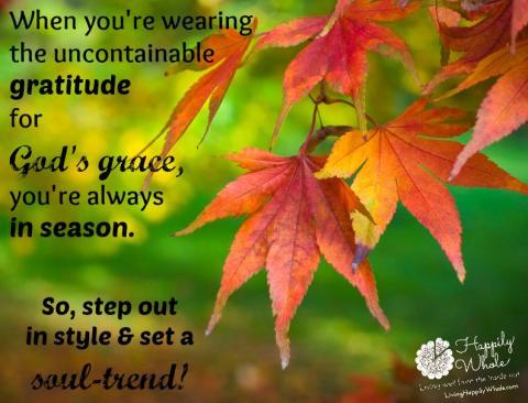 God's Grace and Gratitude
