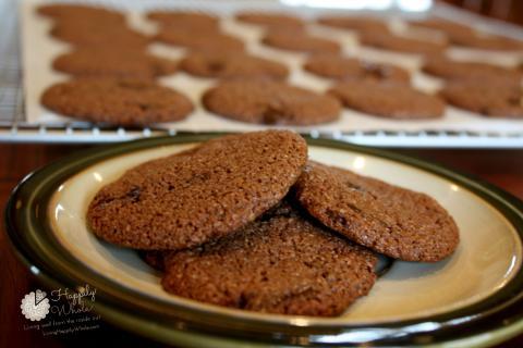 Almond Flour, Cocoa Cookies