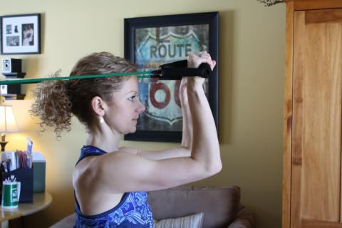 Triceps Extension with band