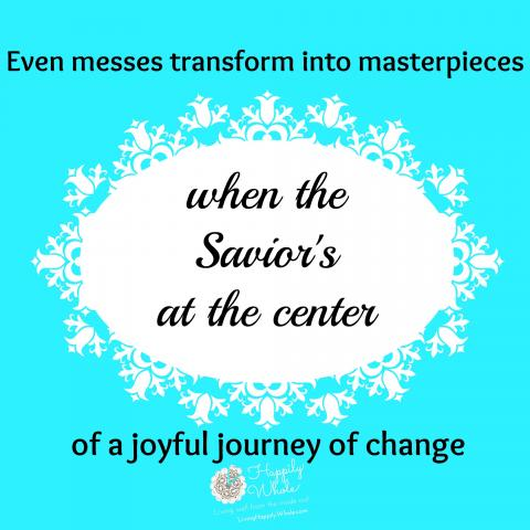 Joyful journey of New Year's Change with Jesus