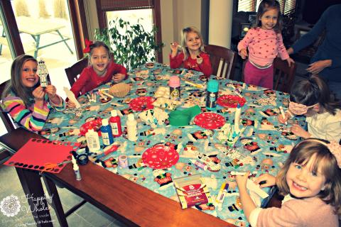 Crafting Play Date