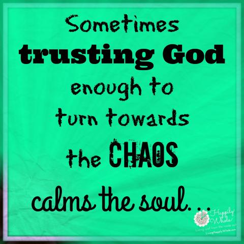 Trust Him ENOUGH to Turn