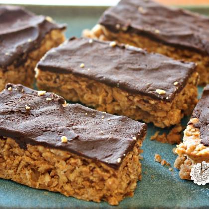 Gluten Free Crunchy Nut Butter Bars