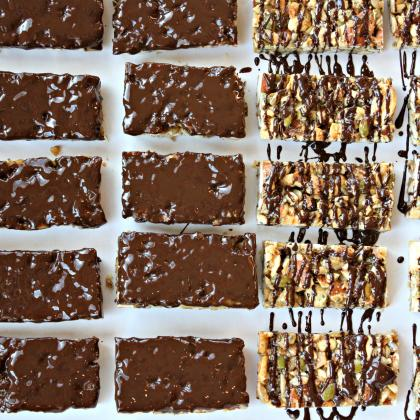 Dark Chocolate Toasted Seed-n-Nut Bars