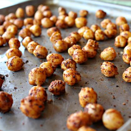 A Simple, Savory Chickpea Snack