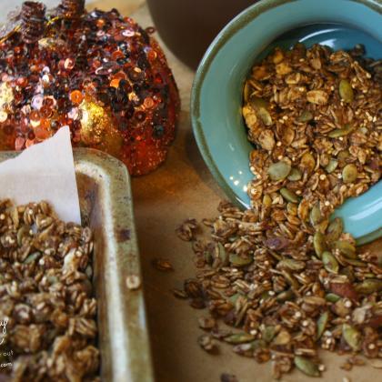 Pumpkin Spice Granola, gluten free