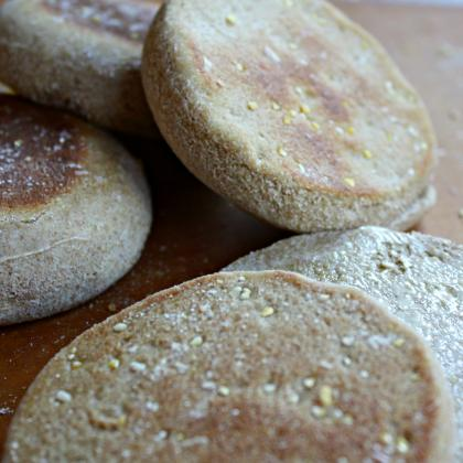 Wholesome, Whole grain Homemade Sandwich Rounds