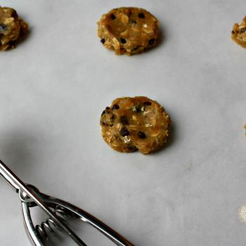 Breakfast cookies, gluten free, chickpea flour, oats