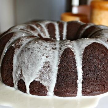 Chocolate Pumpkin Bundt Cake for Thanksgiving