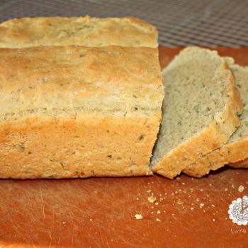 Homemade herb bread with Einkorn flour