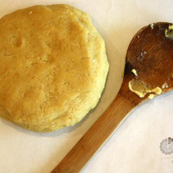 Easy Cheesy Crackers, gluten and grain free. Dough