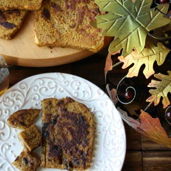 Healthy Pumpkin French Toast