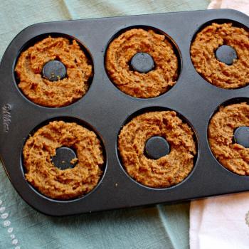 Pumpkin Donuts batter