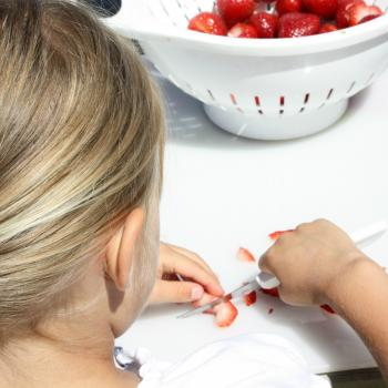 Kids can help with food preparation