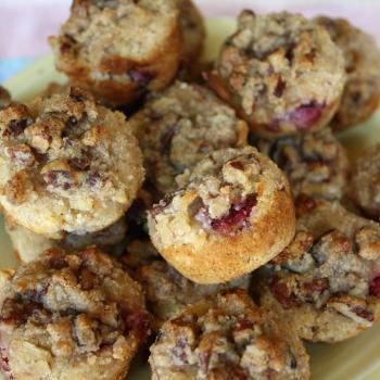 Grain Free, coconut, almond Strawberry Muffins