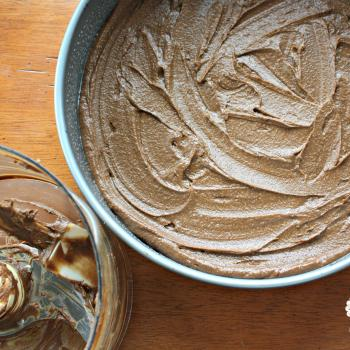 Sweet potato, avocado brownie batter