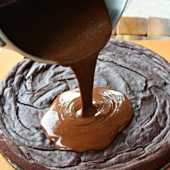Sweet potato, avocado brownie