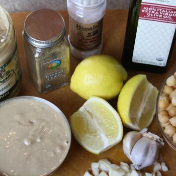 Chickpea Hummus Ingredients