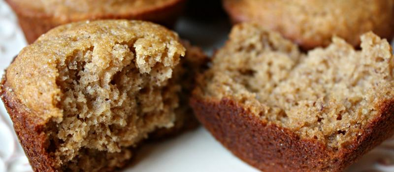 Banana Muffins, gluten free and delicious!