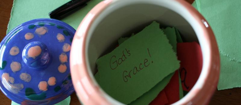 God's Grace in the Happy Jar
