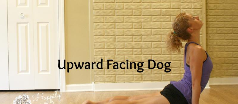 Upward facing dog