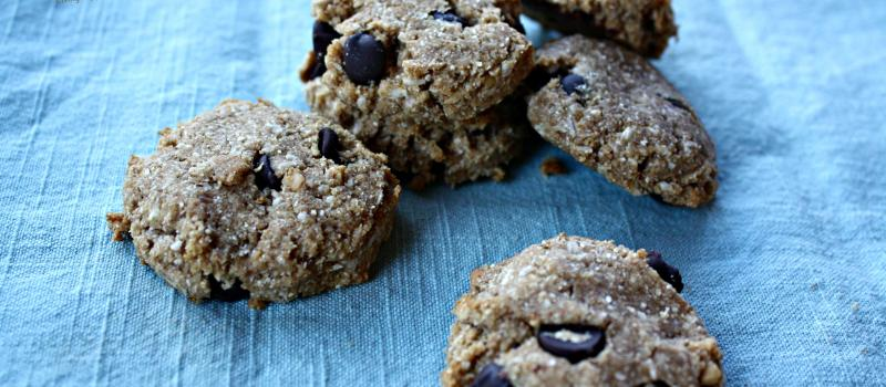 Sugar and Gluten free breakfast cookies