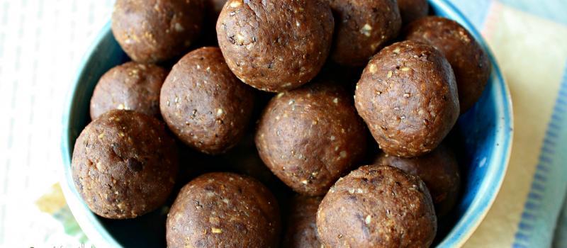 Gluten free, sugar free high protein energy balls