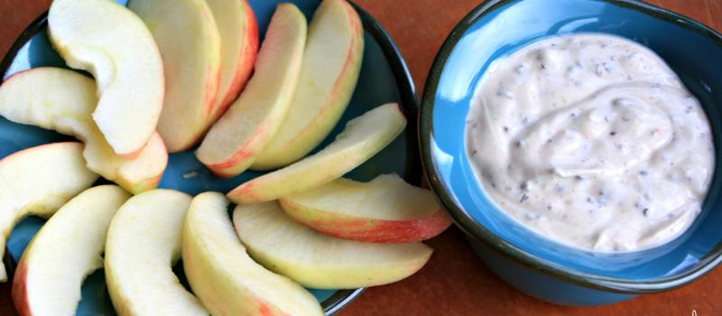 healthy Cookie dough yogurt