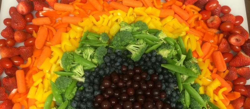 Eat a Rainbow of Real Foods!