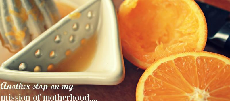 How squeezing oranges softened her heart