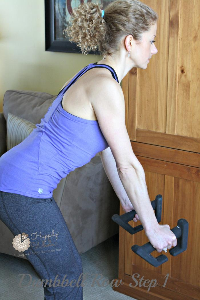 Dumbbell Row Step 1