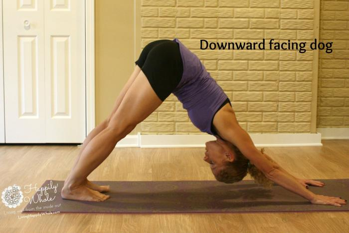 downward facing dog