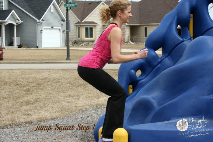 Jump Squat, Step 1