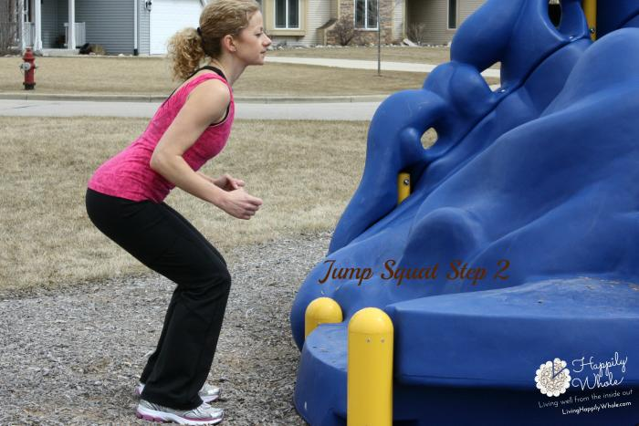 Jump Squat, Step 2