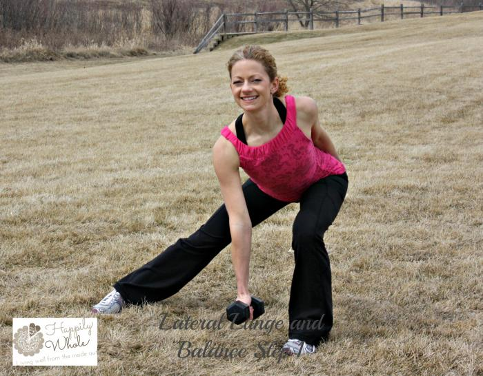 Lateral Lunge with Balance Step 1