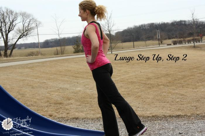 Lunge Step Up, Step 2