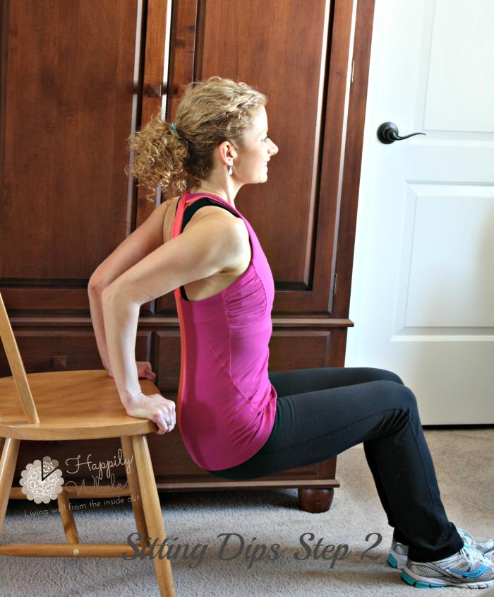 Sitting Dips Step 2