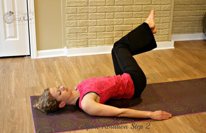 Spine Rotation Step 2