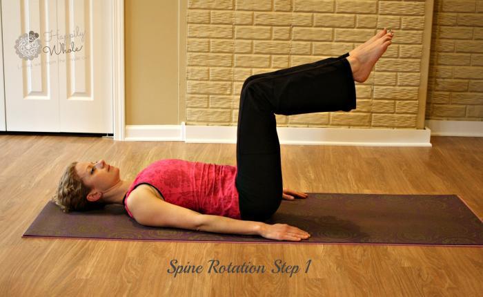 Spine Rotation Step 1