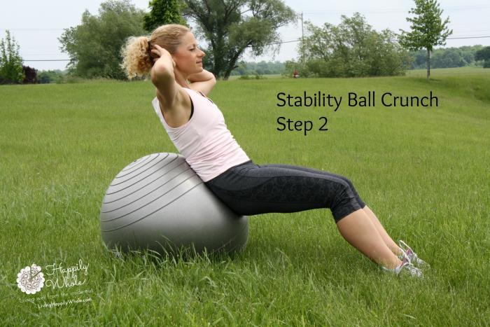 Stability Ball Crunch-2