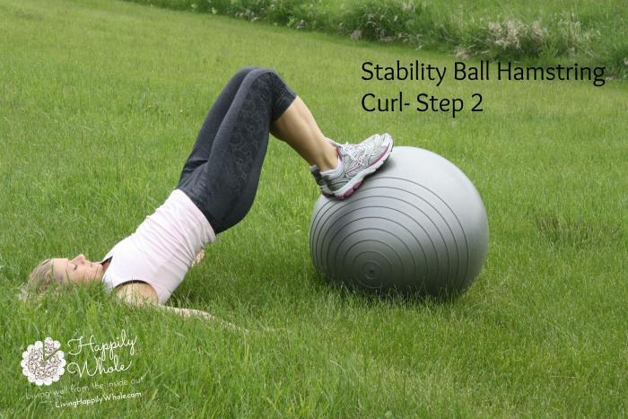 Stability Ball Hamstring Curl-2