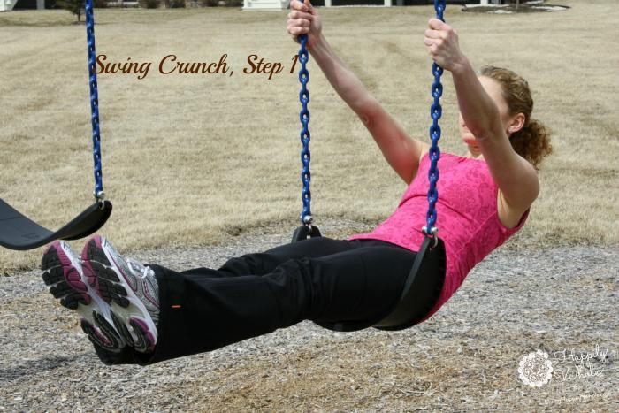 Swing Crunch, Step 1